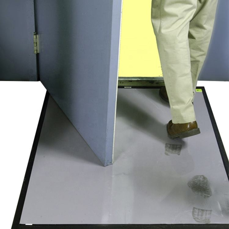 Schoenen Dust Cleaning Peelable 35 Micron 30 Laag Wegwerp Cleanroom Adhesive Sticky Mat 18 ''X 45'' Grey Kleur
