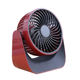 2020 Fashion Latest Portable Rechargeable LED Fan air Cooler Mini Operated Desk USB fan