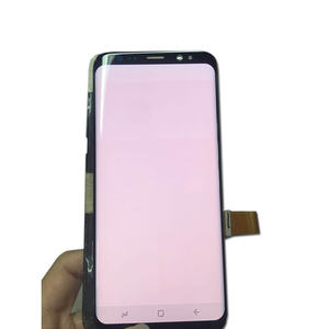 Grado B AMOLED Display A schermo Per Samsung galaxy S5 S6 S7 S8 S9 S10 bordo s7 s8 plus s9 più s10plus lcd touch Screen di ricambio