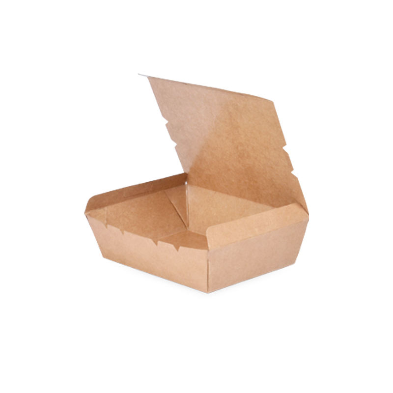 XXS# E-co friendly Kraft heat sealed paper box customized printing food package