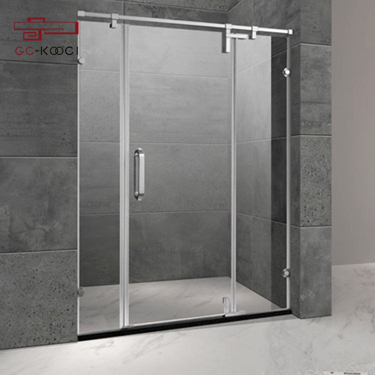 Low Price Modern enclosure Shower room toughed glass rectangle