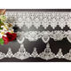 Hot sale embroidery innovation design polyester lace trim