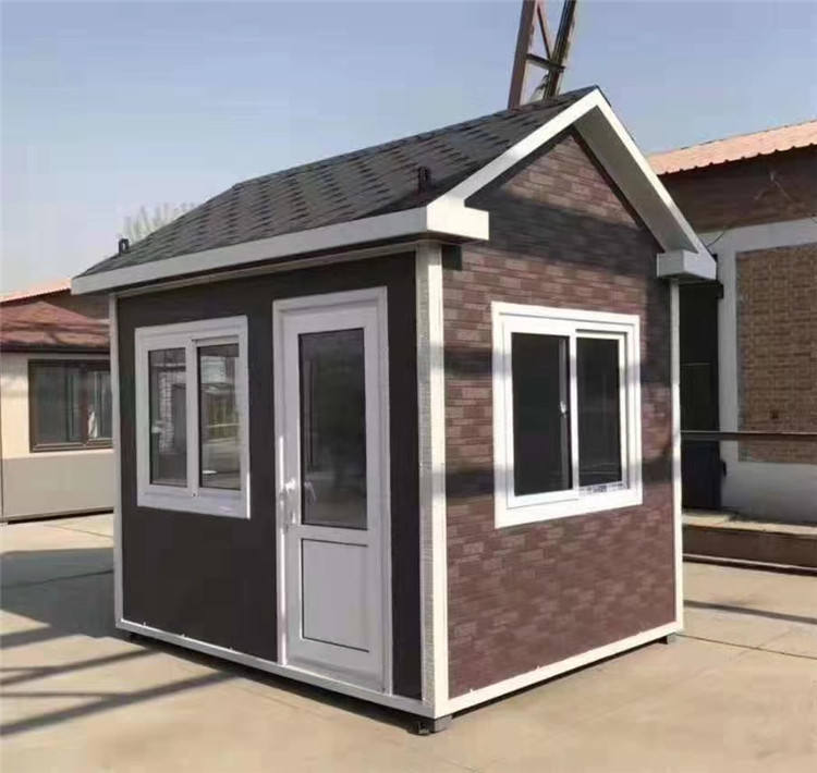 Super Hot selling competitive price security cabin design house sentry box,guard box room