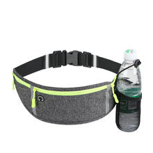 2020  fashion high quality Wholesale promotion Custom logo cheap  Fanny Pack  waterproof material  Waist Bag with bottle holder