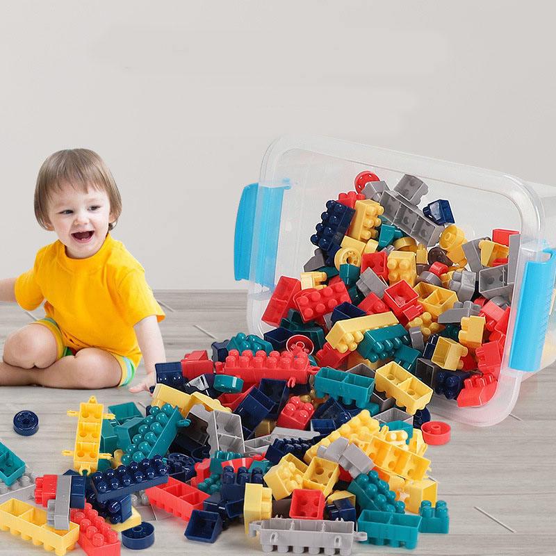 150PCS Baby large particles plastic building blocks kids educational plastic building blocks toys