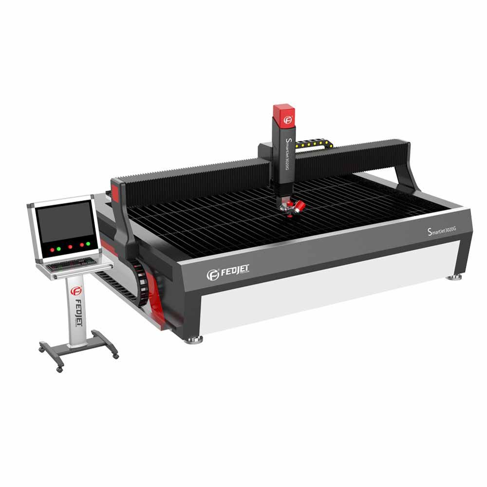 factory directly price Waterjet aluminum Metal cutting machine with 5axis taper compensation cutting head