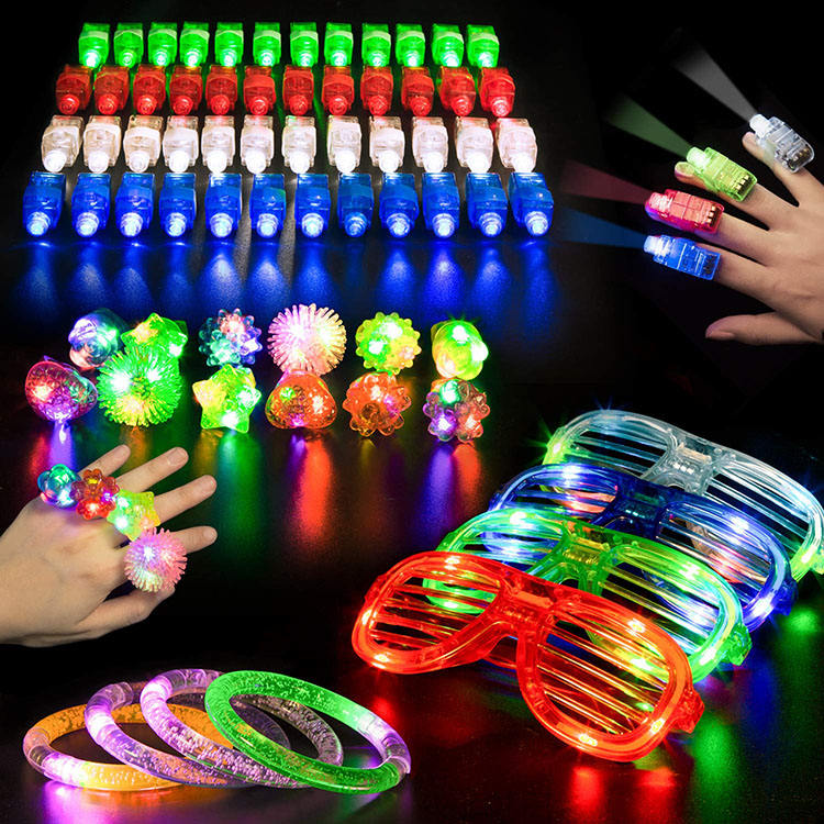 Nicro 68 Pcs Christmas New Year Glow Favors Led Light Decoration Wholesale Party Supplies