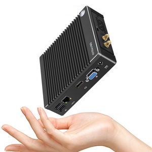 Hot selling Low budget computer Barebone Fanless compact NUC 4K N2840 J1900 N3710 DDR3 2GB 32G SSD Core mini pc i3 i5