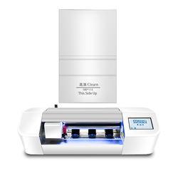 Oem material mobile phone screen guard mini nano tpu cutter 40w cellular screen protector cutting machine