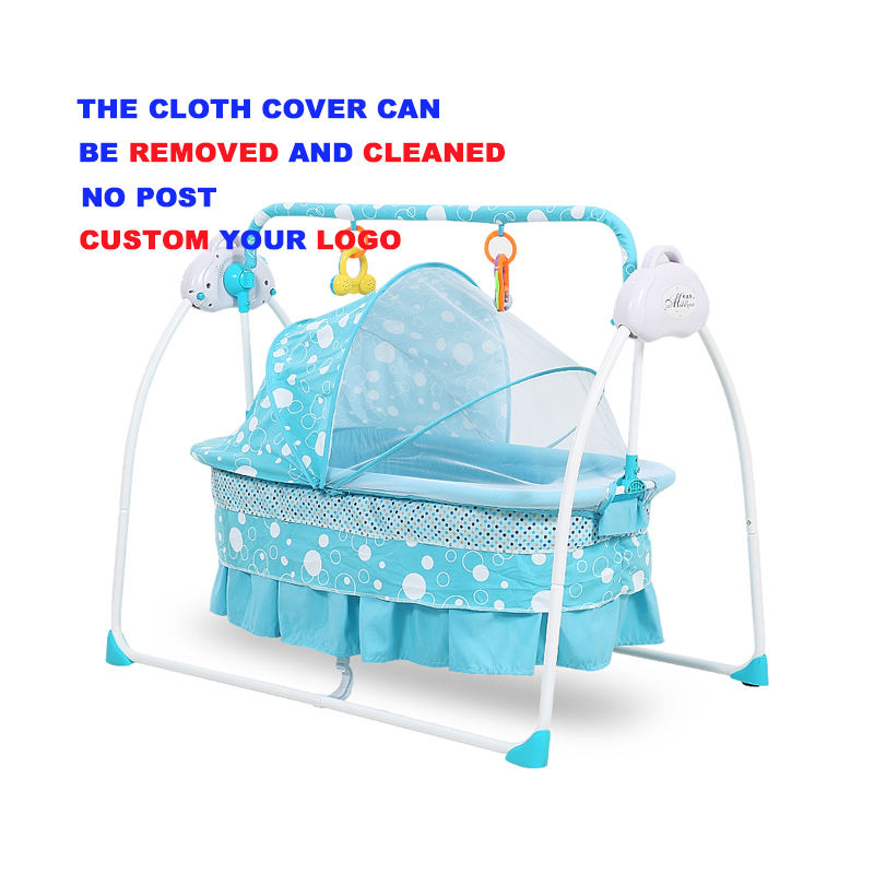 Baby cradle 107 baby electronic swing bed automatic baby cradle