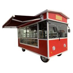 New Outdoor Kitchen Fast Food Cart With Cooking Equipment China Factory Electric Mobile Food Truck For Sale  America