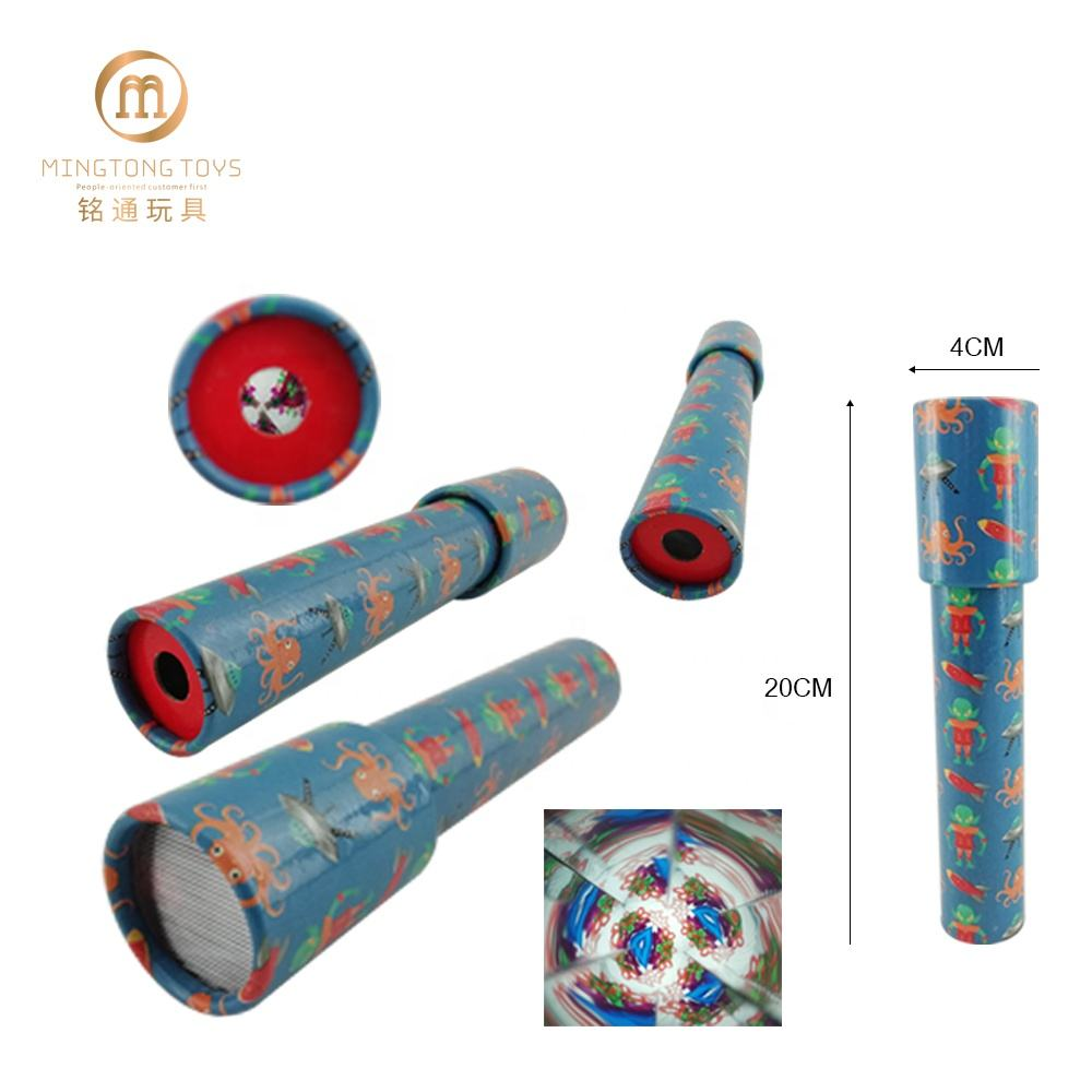 EN71 eco-friendly paper material printing your own logo amazing view custom kaleidoscope