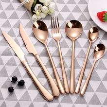 2020 New Arrivals Elegant Tableware Stainless Steel Flatware Spoons Forks And Knives Cutlery Set For Events