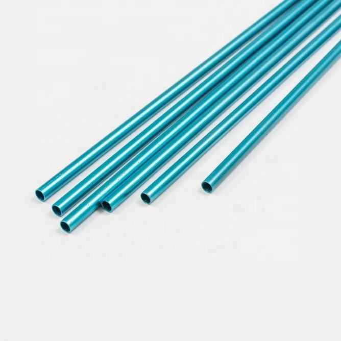 aluminium alloy internal threaded tube M8