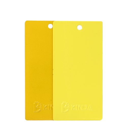 Hot Sale Advance Powder Coating Surface Aluminum Products Coated Fluorescent Yellow Powder Coat