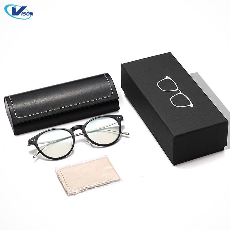 Custom Logo Packing Glasses Packaging Case Sun Glasses Gift Storage Box Paper Sunglasses Case with Lid