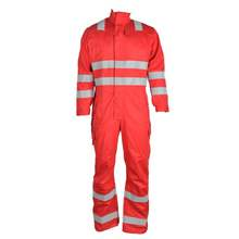 Wholesale Cotton Work Fire Resistant Mechanic Overall Clothes