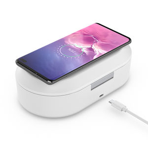 MULTI FUNCTION Wireless Charger Disinfector UV Light โทรศัพท์มือถือ Sanitizer กล่อง