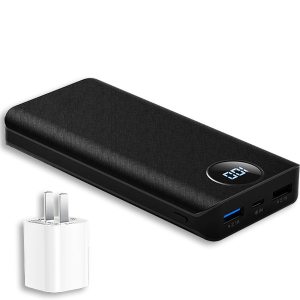 Ultra Slim Dual Usb Power Bank On Sale