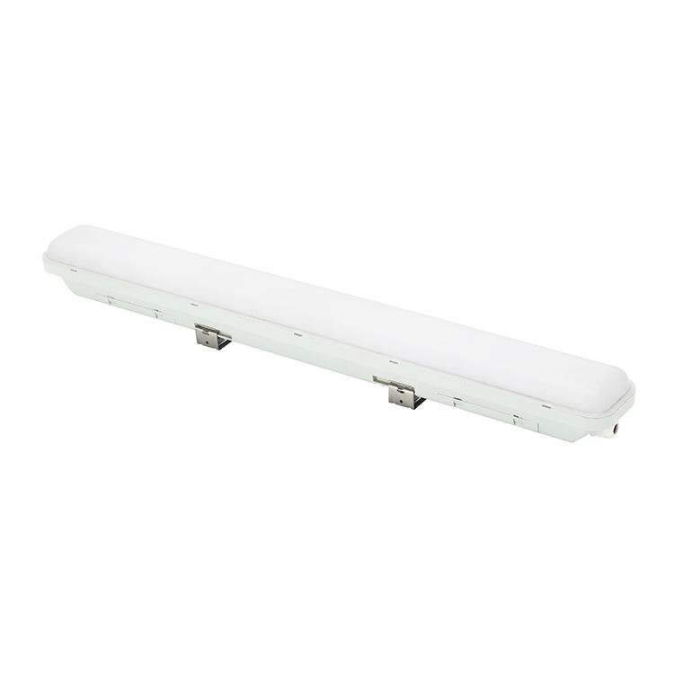 hot selling ningbo 18w tube housing fluorescent fixture led tri-proof light