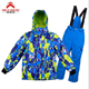 2019 Ski Jacket Snow Jacket Pants Suits Windproof Waterproof Winter Coats (Size US 4-16)