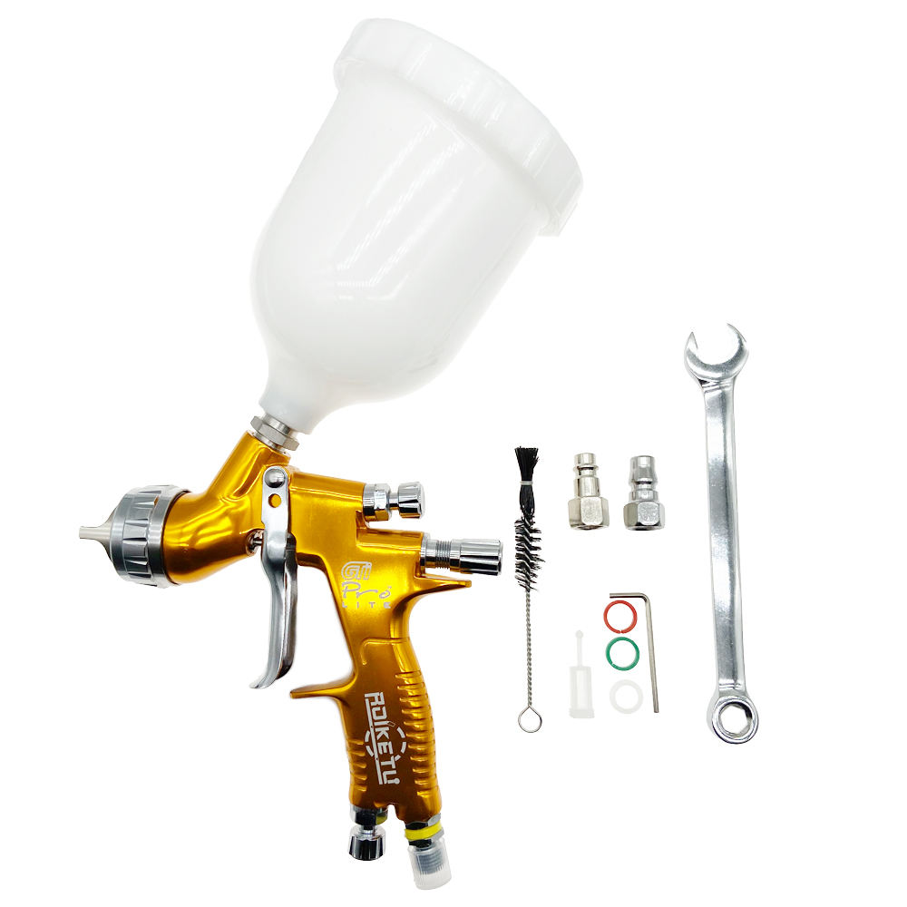 high quality professional GTI pro lite painting gun TE20/T110 1.3mm nozzle spray gun paint gun water based air LVLP airbrush