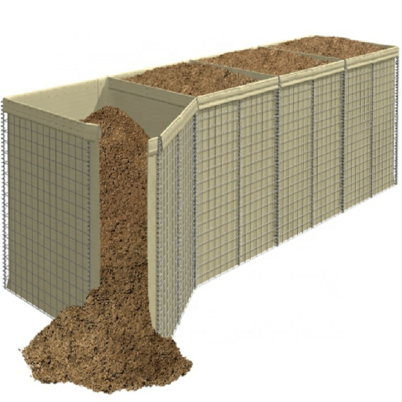 3x3'' hole size hesco barriers cost/hesco bastion wholesale/mil 1 explosion proof wall