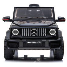 2020 12V G63 AMG baby Toy Car Black Kids' Electric Ride-ons  Kids Electric Toys  Powered Vehicles On Sale
