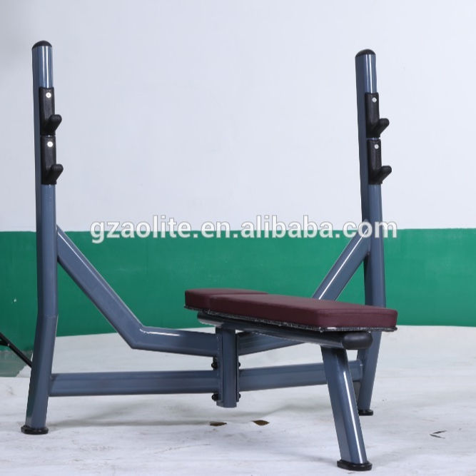 Professional Gym Equipment / Flat Bench Press / Weight Lifting Equipment