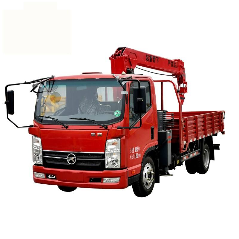 New Mobile 8 tons Self Contained Truck Crane