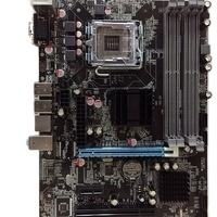 Intel P45 chipset motherboard with lga 775 771 socket support intel core 2 pentium celeron series CPU 4 rams DDR2