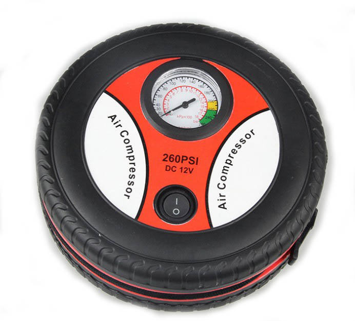 12V Auto Inflatable Pumps Electric Tire inflation 260psi Mini Portable Car Air Compressor