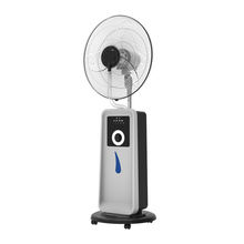 Rechargeable mist fan with spray water and battery fan