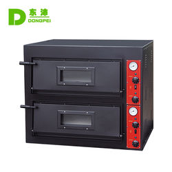 Commercial Electric Double Deck Electric Pizza Baking Oven / Pizza Oven with Digital Control