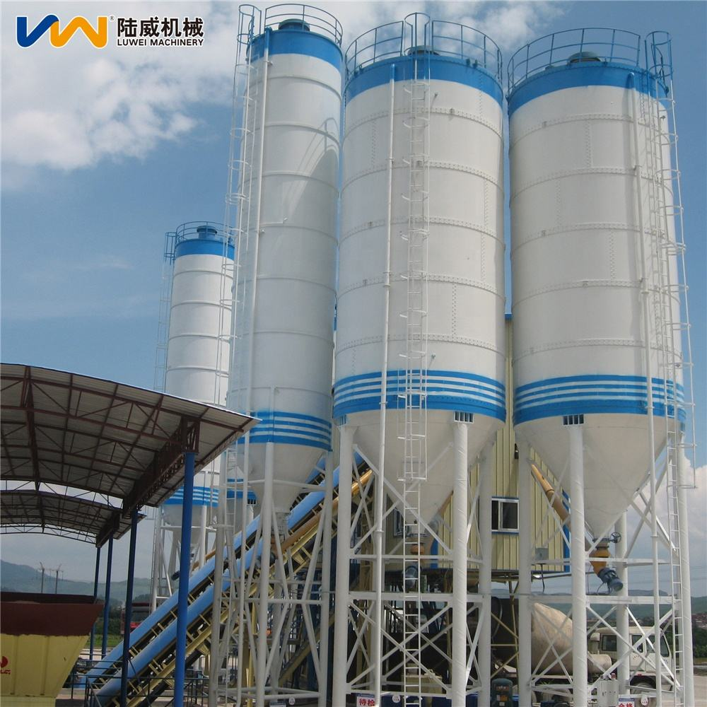 50 100 150 Ton Prices of Sheet-assembled Cement Silo Bulk Cement Powder Silo Construction Projects for Concrete Mixing Station