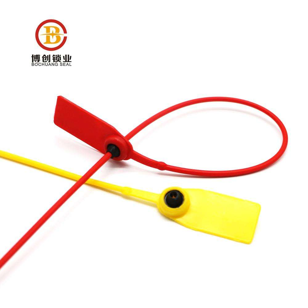 pe cable tie with pas 17712 plastic bag seal