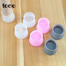 TOCO Silicone Floor Protector Round Furniture Protection Cover Table Feet Cover Chair Leg Caps