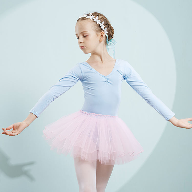 Mixed Colors Stage Kids Ballet Tutu Skirt Dance Child Dress Clothes Girls Dancing Mini Skirts