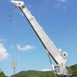 30T ABS certified stock  telescopic offshore crane