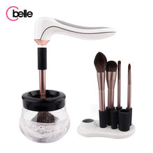 Upgrade Design Usb Rechargeable Brush Cleansing Professional Fast Dry Makeup Brush Cleaner Dryer