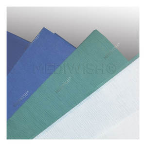 Daily use Soft Sterilization Wrapping Medical Crepe Paper 60 gsm from creper paper factory with hot cheap price