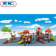 Amusement Park Attractive Children Outdoor Garden Slide Playground Equipment