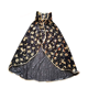 Magic witch's cloak with hat set for boys and girls