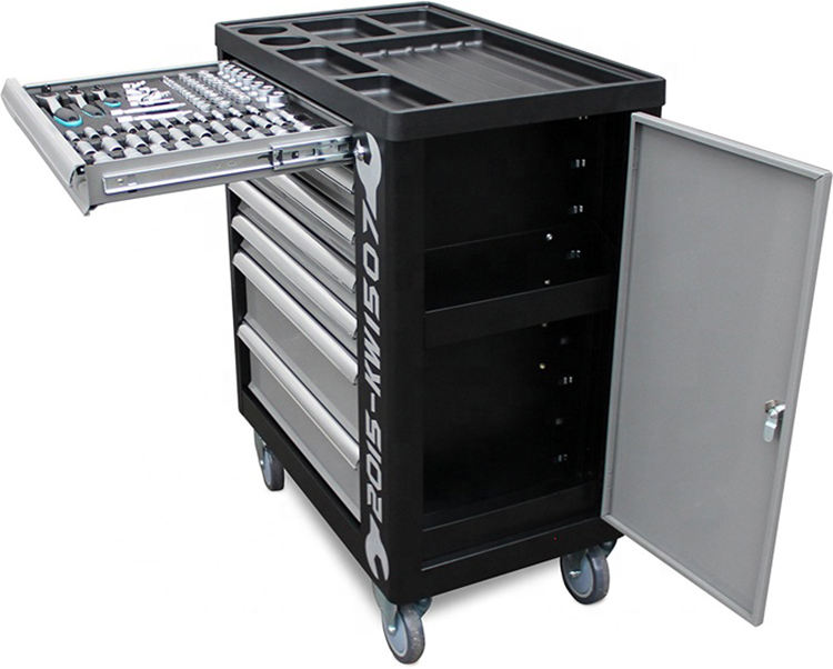 Wide 7-Drawer Standard Duty Ball-Bearing Tool Chest Workstation