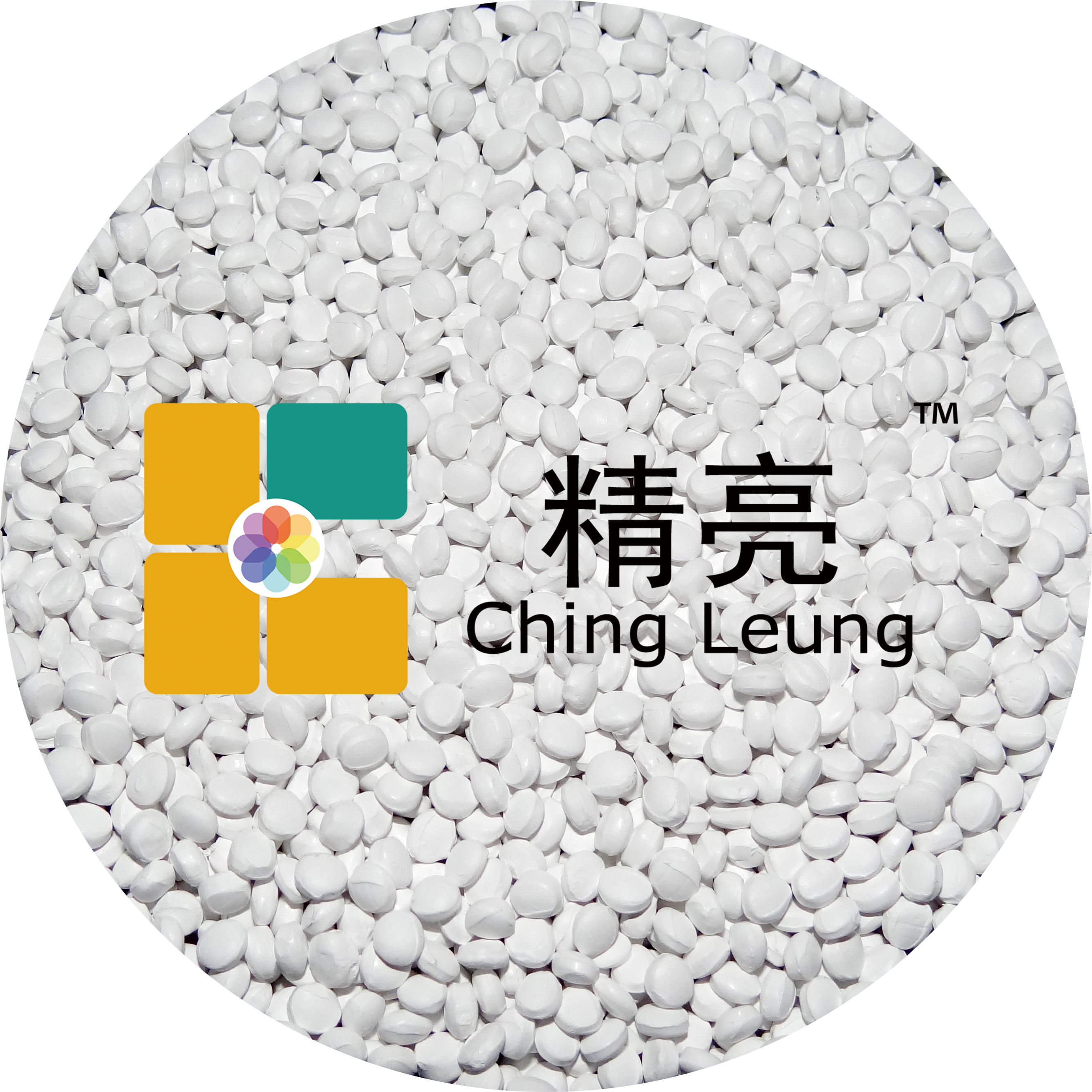 LLDPE Carrier calcium carbonate white masterbatches