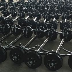 6K Braked Trailer Electric Axle Leaf Spring Axle