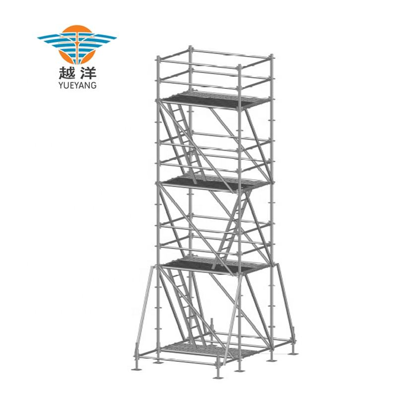 Allround Layher Ringlock Scaffolding System For Building Work