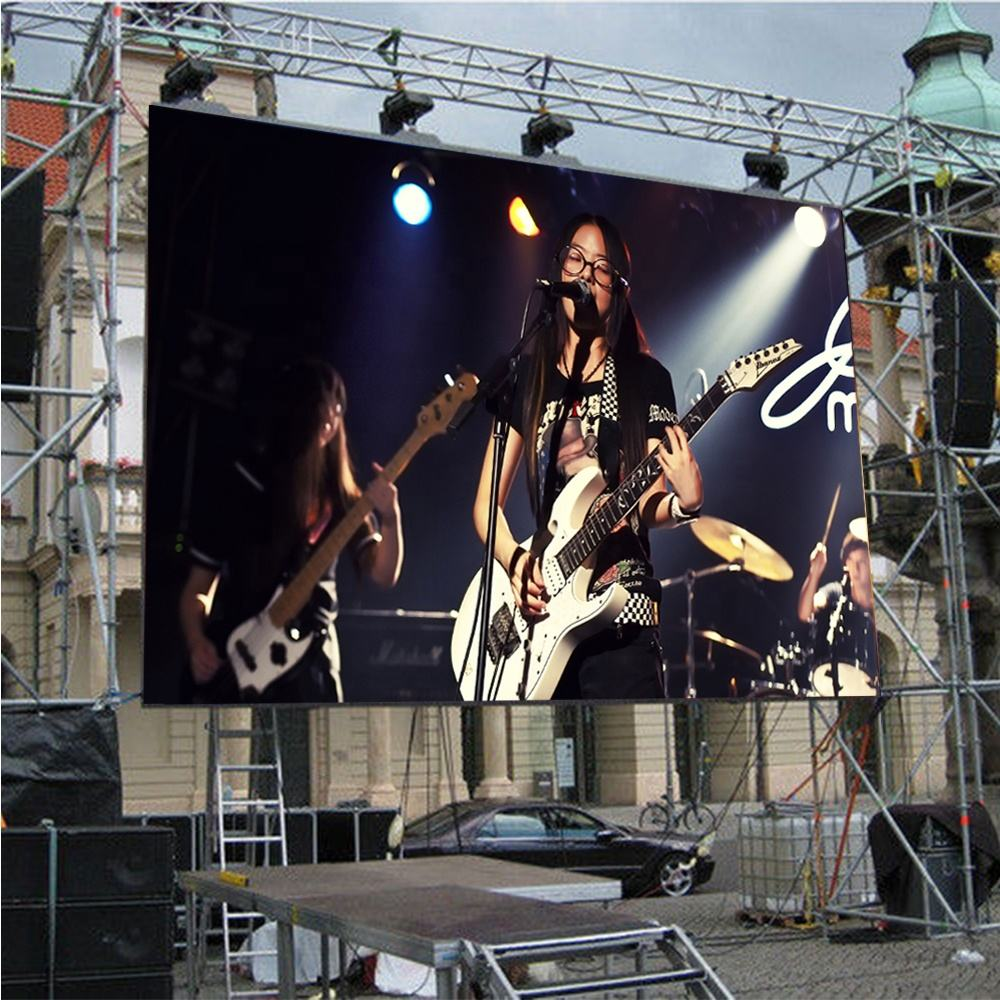 P3.91 Waterproof/Rainroof Advertising Display Rental Outdoor LED Screen