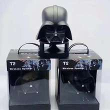 T2 2020 New Cartoon Bluetooth Speaker with Creative Design of Darth Vader and White Soldier Helmet, Mini subwoofer stereo