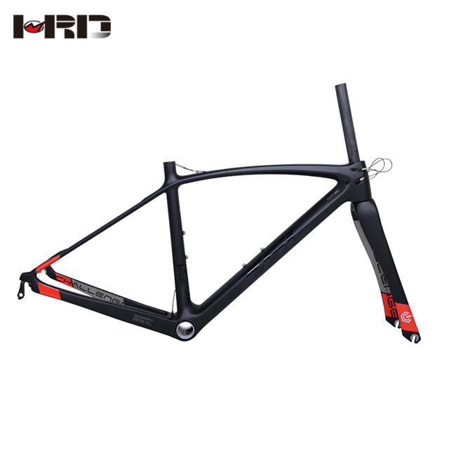 ZGL-CRB28 Black DI2 road bike frame 700C full carbon fiber road bicycle parts warranty 2 years carbon bicycle frame